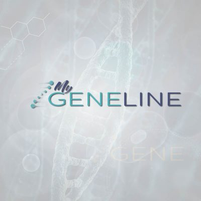 MyGENELINE - Genetic Testing - Logo Design Website Design Social Media and Marketing strategy